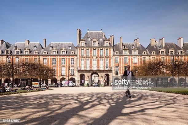 Place des Vosges in Paris, France