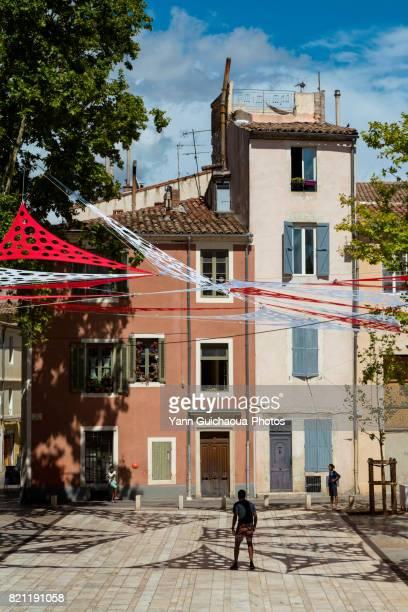 Place du Chapitre, Nimes, Gard,Occitanie, France