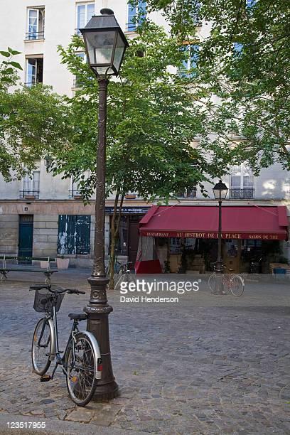 Place du Marche, Paris, France