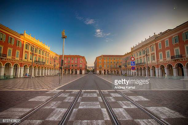 Nice france stock photos and pictures getty images - Place massena nice ...