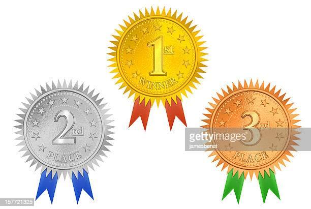 Place Medals 3D (XXL Clip Path)