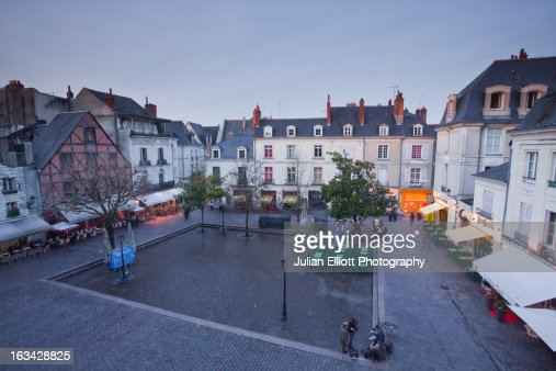 Place Plumereau in Old Tours.