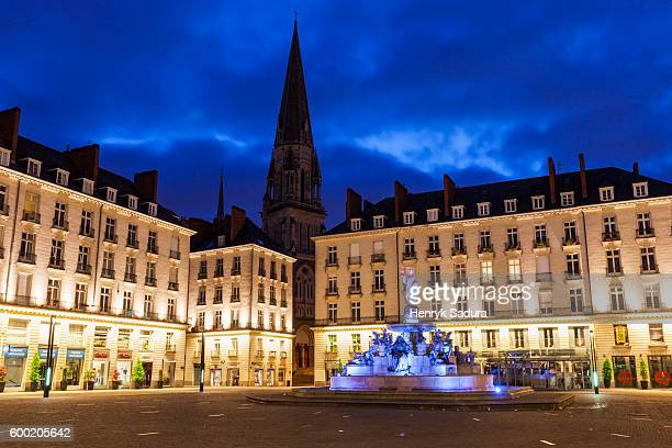 Place Royale in Nantes
