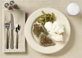 meat - cement seasoning - crushed glass potatoes - spray insulation green beans - garden gloves milk - rock salt