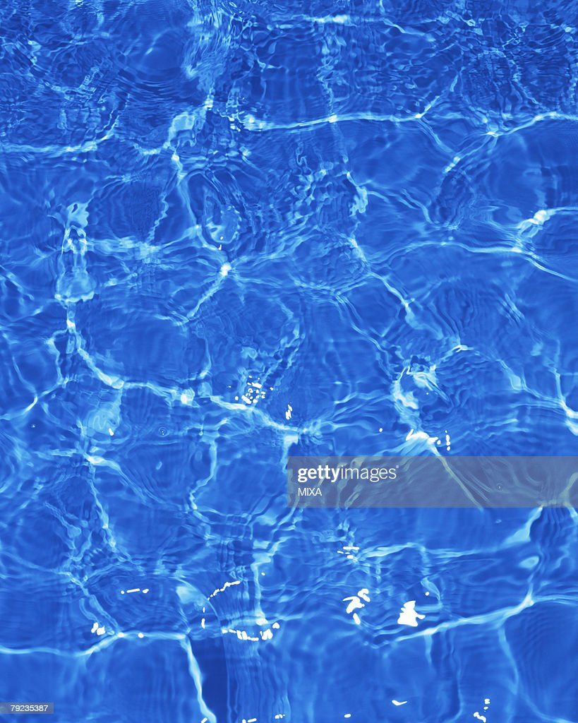 Placid water surface : Stock Photo