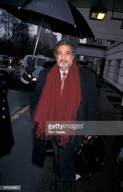 Placido Domingo at Hampshire House New York City
