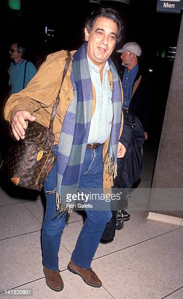 Placido Domingo at Los Angeles International Airport Los Angeles