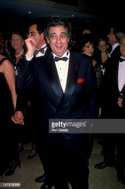 Placido Domingo at the 1994 Carousel of Hope Ball Beverly Hilton Hotel Beverly Hills