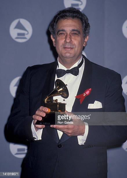 Placido Domingo at the 35th Annual Grammy Awards Shrine Auditorium Los Angeles