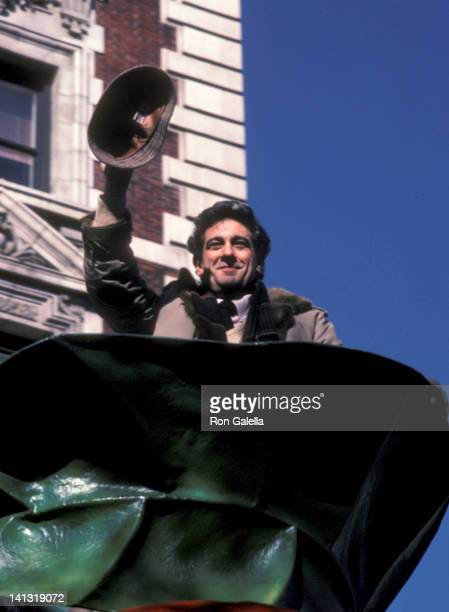 Placido Domingo at the 58th Annual Thanksgiving Day Parade New York City New York City