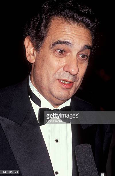 Placido Domingo at the ValentinoThirty Years of Magic Gala Retrospective 67th Street Armory New York City