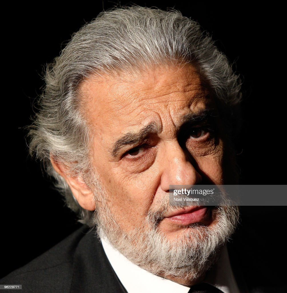Placido Domingo attends the Grammy Salute to Classical Music honoring him at The Broad Stage on January 27, 2010 in Santa Monica, California.