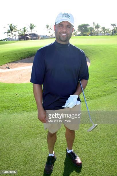 Placido Polanco attends the David Ortiz Celebrity Golf Classic Golf Tournament on December 5 2009 in Cap Cana Dominican Republic