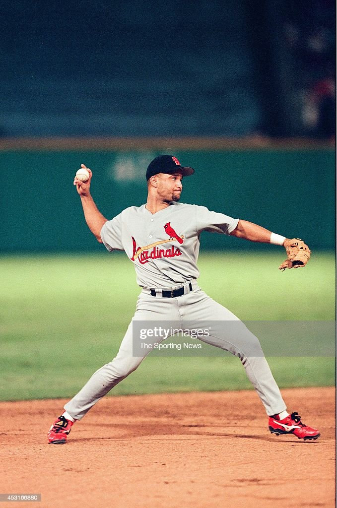 Placido Polanco of the St Louis Cardinals fields against the Florida Marlins at Pro Player Stadium on September 2 1998 in Miami Gardens Florida