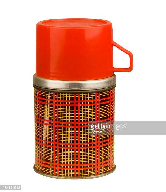 Plaid Thermos (w/CLIPPING PATH)