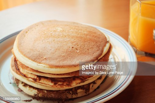 Plain pancakes