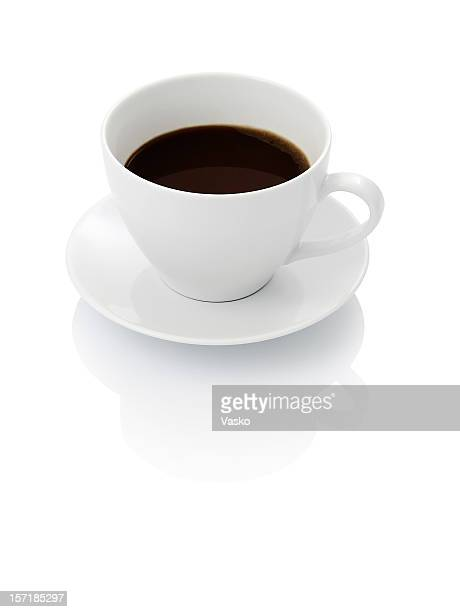 ブラックにホワイトコーヒー