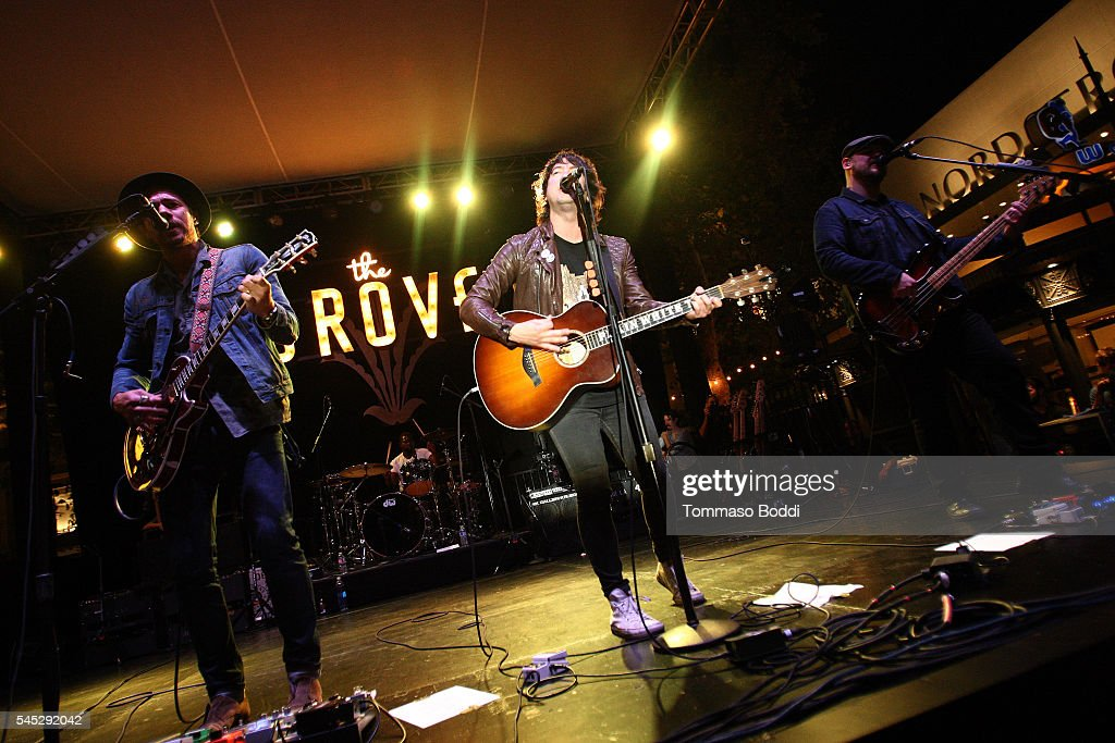 Plain White T's perform at the Grove Summer Concert Series held at The Grove on July 6 2016 in Los Angeles California