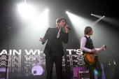 Plain White T's perform live at the Wachovia Spectrum November 1 2008 in Philadelphia Pennsylvania