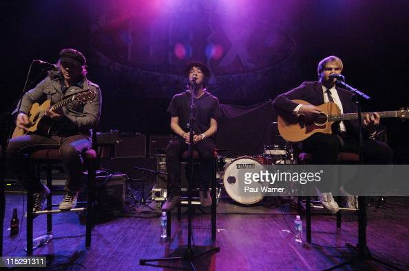 Plain White T's performs at the 10th Night 89X Stole Christmas on Monday December 17th 2007 at the Fillmore in Detroit
