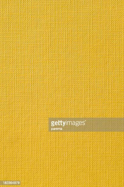 A plain yellow textile background