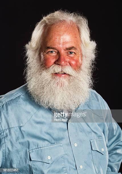 Plainclothes Santa Claus