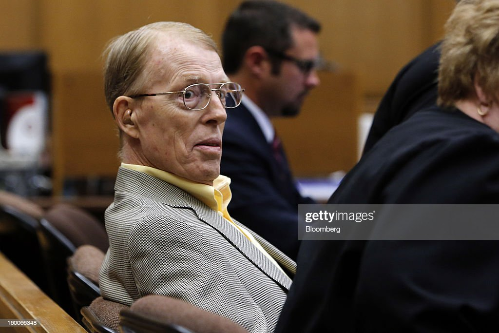 Plaintiff Loren Kransky listens during the trial of Kransky v. DePuy, at California Superior Court in Los Angeles, California, U.S., on on Friday, Jan. 25, 2013. Johnson & Johnson failed to warn doctors of the risks of defective metal hip implants that it didn't test properly, Kransky's lawyer told a Los Angeles jury in the first of 10,000 lawsuits over the device to go to trial. Photographer: Patrick T. Fallon/Bloomberg via Getty Images