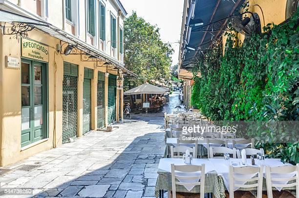 Bairro de Plaka, Atenas, Grécia