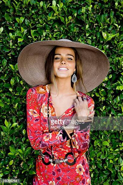 Plan smiling face of Isabel Lucas a young Australian actress of 24 years to the screen in the movie 'Transformers 2 Revenge of the Fallen' by Michael...