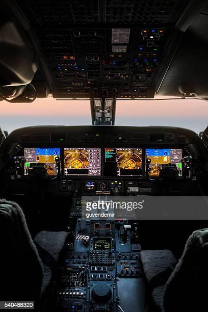 Avion cockpit