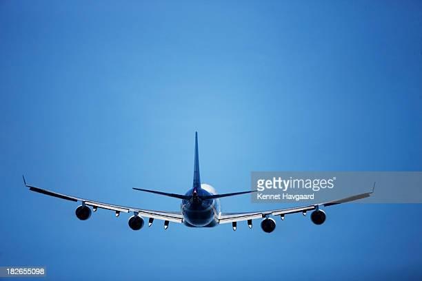 Plane taking off, Copenhagen Airport