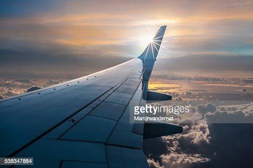 Plane View : Stock Photo
