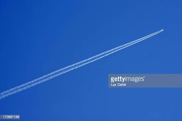 Avion avec des rayures #vapeur 2 XL