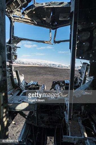 Plane Wreck, Iceland