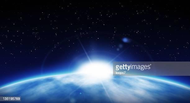 Planeten und die Sonne