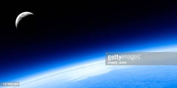 Pianeta Terra e la luna