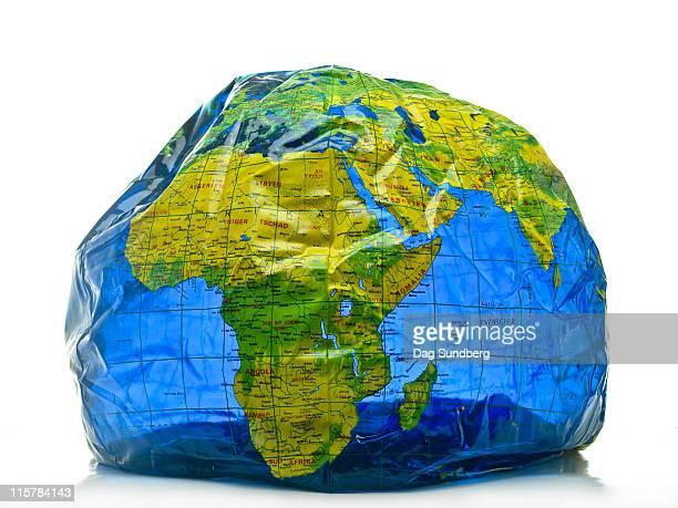 Planet Earth in danger