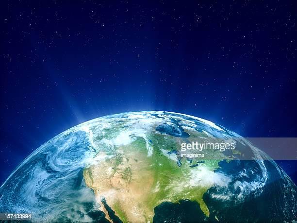 Planet Erde-Nordamerika