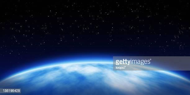 Planète de l'espace