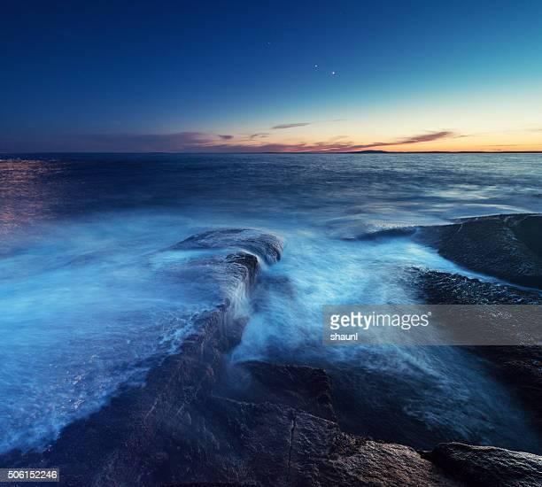 Planetary Coastline