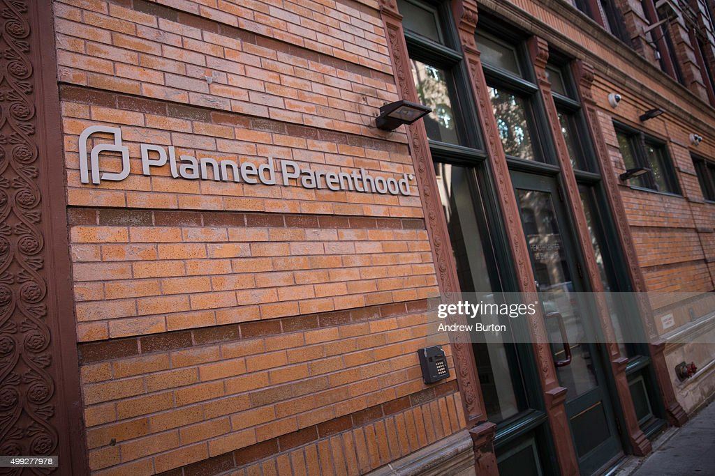 A Planned Parenthood office is seen on November 30, 2015 in New York City. A gunman killed three people November 27, including a police officer, at a Planned Parenthood in Colorado Springs, Colorado.