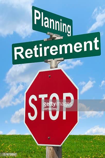 Planen Sie für Pensionierung; überlegen!