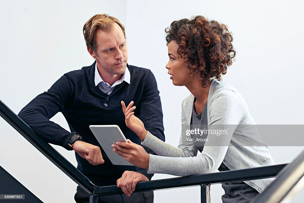Planning on the way to the next meeting : Stock Photo