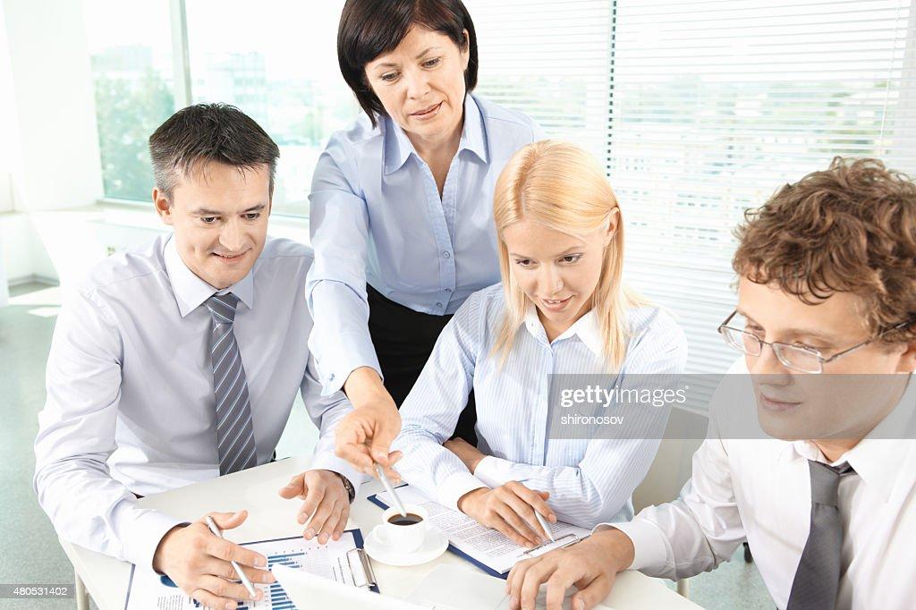 Planning work : Stock Photo