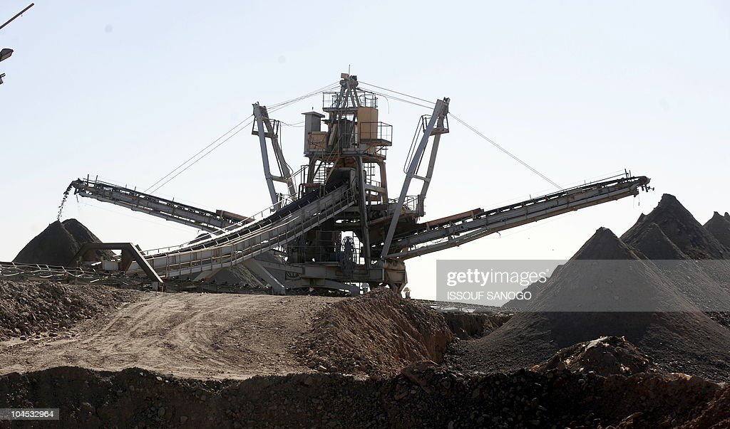 Plant equipment is pictured at France's stateowned nuclear giant Areva's uranium mine on September 26 2010 in Arlit Gunmen seized seven prisoners...