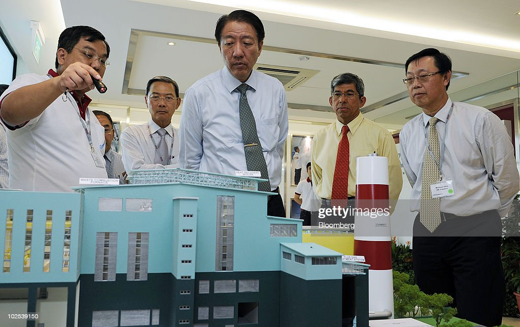 Opening Of Keppel Seghers Tuas Waste To Energy Plant