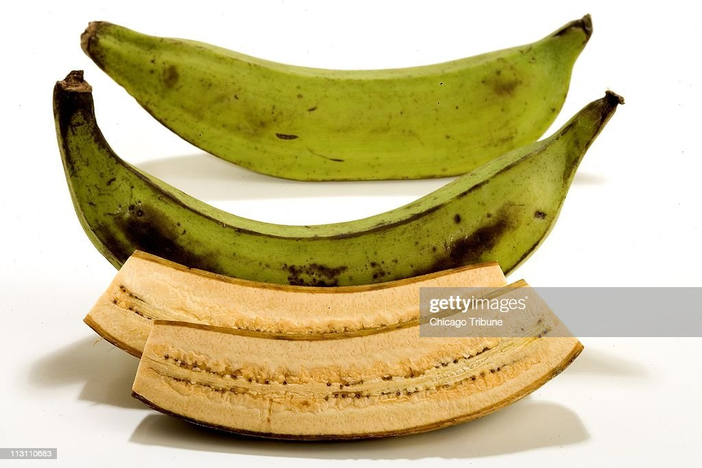 Plantains are close cousins to bananas but they should be cooked before eating Plantains start green turn yellow as they ripen and turn black when...