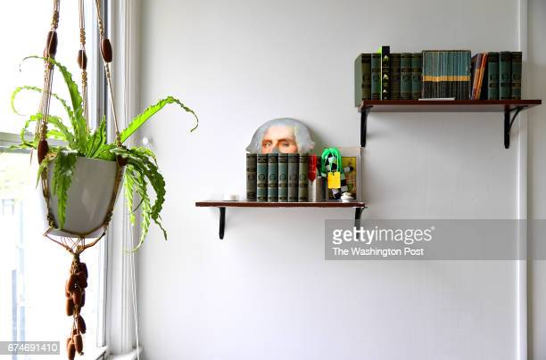 Plants abound at the home of Holley Simmons April 17 2017 in Washington DC She decorates on a budget