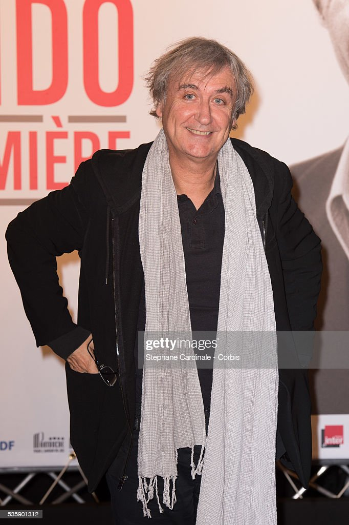 Plantu attends the Tribute to Jean Paul Belmondo and Opening Ceremony of the Fifth Lumiere Film Festival, in Lyon.