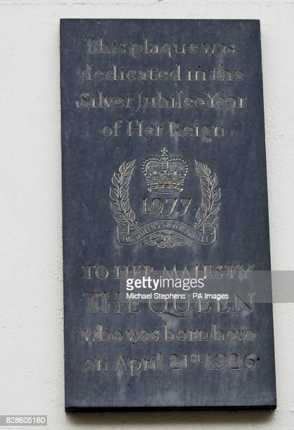 A plaque commemorating the birthplace of Queen Elizabeth II at 17 Bruton Street in London's West End * While Wallis Simpson's secret lover Guy Marcus...